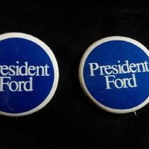 Image of Button, Political - 1989.014.16