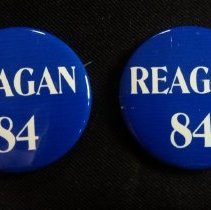 Image of Button, Political - 1989.014.17