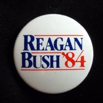 Image of Button, Political - 1989.014.18