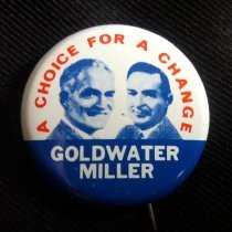Image of Button, Political - 1990.087.08