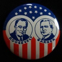 Image of Button, Political - 1990.087.22