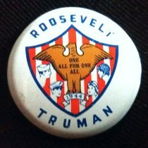 Image of Button, Political - 1990.087.26
