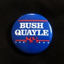 Image of Button, Political - 1990.087.36