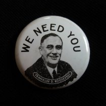 Image of Button, Political - 1990.087.38