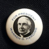 Image of Button, Political - 1990.087.60