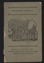Image of Short Biographies - Olive Grey Cover, Black Print.  36 Pp