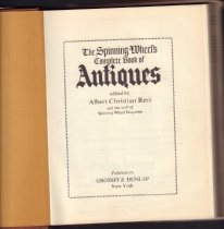 Image of A guide to antiques for collectors.