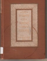 Image of Book about the habits and beliefs of Puritan's in New England by the scholar Alice Morse Earle.