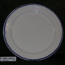 Image of 2005.1.120 - Plate, dinner