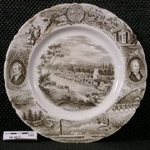 Image of 2005.1.42 - Plate, dinner