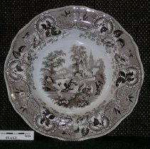 Image of 2005.1.49 - Plate, dinner