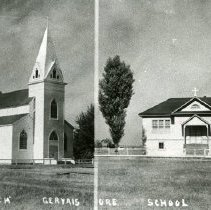 Image of Print, Photographic - Copies: 1 ( 1 copy with two photographs)  