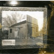 """Image of Print, Photographic - Copies: 1 ( 1 copy)   """"Old Saloon - Champoeg c. 1964"""" (back)"""