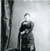"""Image of Print, Photographic - Copies: 1 ( 1 copy)   """"Mrs. Provost"""" (front of image)"""