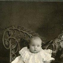 "Image of Print, Photographic - Copies: 1 ( 1 original on mat)   ""Lillian Reynolds"" (back)"