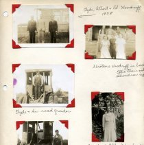 Image of Print, Photographic - Copies: 1 ( 1 scrapbook page with 6 photographs)