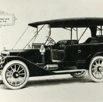 """Image of Print, Photographic - Copies: 1 ( 1 lamenated copy)   """"The 1911 Winton Six with Top"""" (front of image)"""