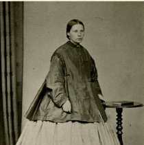 "Image of Print, Photographic - Copies: 2 ( 2 copies)  ""Mrs. James Clarke"" (back of both copies)"