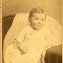 "Image of Print, Photographic - Copies: 2 (1 original, 1 copy)  ""Ha_mes Dad Clarence Eldriedge"" (back of original)"