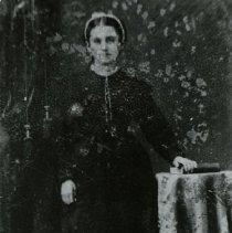 "Image of Print, Photographic - Copies:  1 (1 copy)  ""Anastasie Laframboise (?)"" (back)"