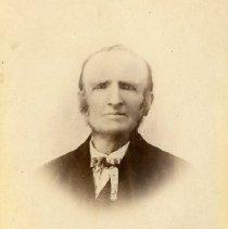 "Image of Print, Photographic - Copies:  2 (1 original, 1 lamenated copy)  ""Grandfather Thomas Kirk"" (back of original)"