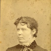 "Image of Print, Photographic - Copies:  1 (1 original)  ""Wedding   picture of   Mrs. J Kirk"""