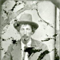 "Image of Print, Photographic - Copies: 1 (1 copy)  ""_____ Lambert brother of Frank Lambert"" (back)"