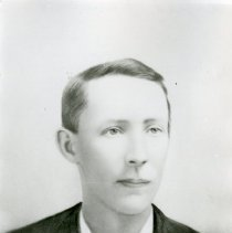"Image of Print, Photographic - Copies: 1 (1 copy)  ""Alfred Lambert"" (back)"