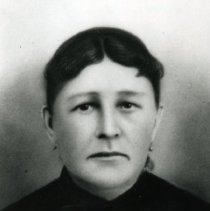 "Image of Print, Photographic - Copies: 1 (1 copy)   ""                                      c. 1855-1910 Elizabeth Sanagaretta         wife of Pierre Menard II daughter of Joseph Sanagaretta and  Nancy Pisk - - Calapooia & Chinook"" (back)"