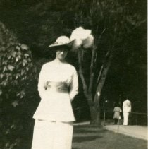 "Image of Print, Photographic - Copies: 1 ( 1 original)   ""Nora Miller 1914"" (back)"