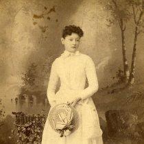"Image of Print, Photographic - Copies: 1 ( 1 original)    ""Nettie Newton,  August, 89."" (back)"