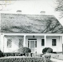"""Image of Print, Photographic - Copies:   1 ( 1 copy)    """"Barclay Home - Oregon"""" (back)"""