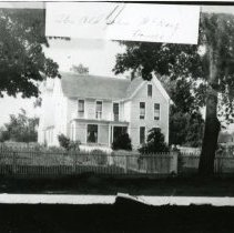 """Image of Print, Photographic - Copies:  1 ( 1 copy)   """"The Old John McKay Home"""" (front of image)  """"Old McKay House"""" (back)"""