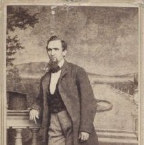Image of Card, Cabinet - Studio photo of Isaac R. Moores.