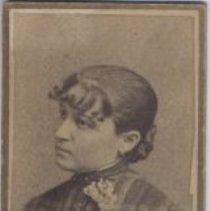 Image of Print, Photographic - Studio Portrait of Nellie Smith