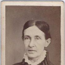 Image of Card, Cabinet - Studio Portrait of Ann Turner