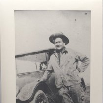 Image of Print, Photographic - A Photograph of Basile (Bert) DeLore (1867-1935) son of: Pierre Dilard and Jasepate La Pierre.