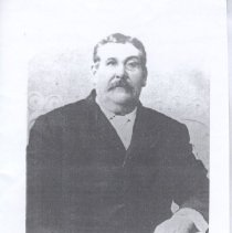Image of Print, Photographic - Copy of a photograph.  Joseph LaChapelle son of Blandina LaChapelle and Garrins (Father)