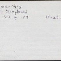 Image of 2011.1.0283 - Notecard