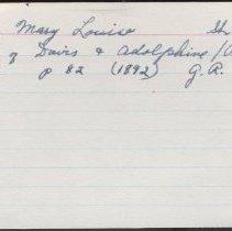 Image of 2011.1.1384 - Notecard