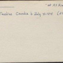 Image of 2011.1.1434 - Notecard