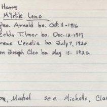 Image of 2011.1.1965 - Notecard