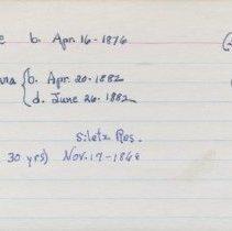 Image of 2011.1.1981 - Notecard
