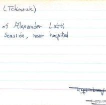 Image of 2011.1.3480 - Notecard