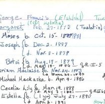 Image of Notecard