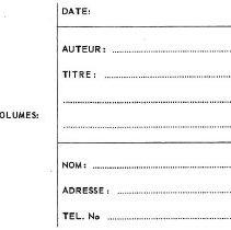 Image of Notecard