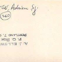 Image of 2011.1.4585 - Notecard
