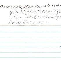 Image of 2011.1.5138 - Notecard