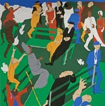 Image of Jacob Lawrence, Seattle Arts Festival: Bumbershoot '76