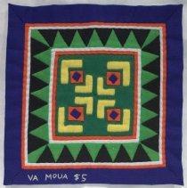 Image of Va Moua, Flower Cloth